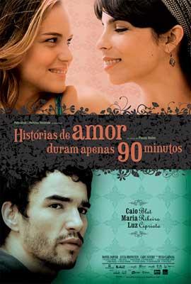 Historias de Amor Duram Apenas 90 Minutos - 11 x 17 Movie Poster - Belgian Style A