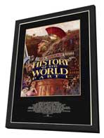 History of the World: Part 1 - 11 x 17 Movie Poster - Style A - in Deluxe Wood Frame