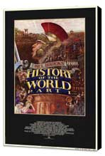 History of the World: Part 1 - 11 x 17 Movie Poster - Style A - Museum Wrapped Canvas