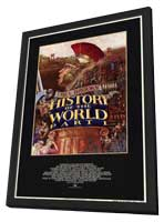 History of the World: Part 1 - 27 x 40 Movie Poster - Style A - in Deluxe Wood Frame