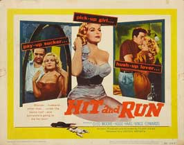 Hit and Run - 22 x 28 Movie Poster - Half Sheet Style A