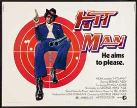 Hit Man - 22 x 28 Movie Poster - Half Sheet Style A