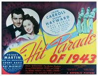 Hit Parade of 1943 - 11 x 14 Movie Poster - Style D
