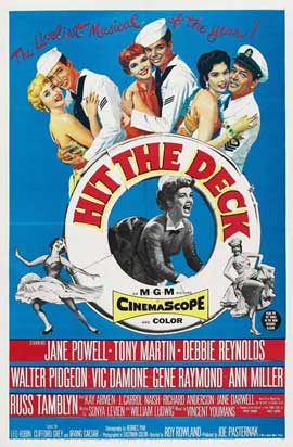 Hit the Deck - 11 x 17 Movie Poster - Style A