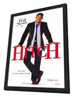 Hitch - 27 x 40 Movie Poster - Style A - in Deluxe Wood Frame