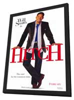 Hitch - 11 x 17 Movie Poster - Style A - in Deluxe Wood Frame