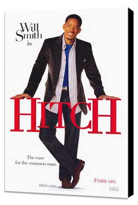 Hitch - 27 x 40 Movie Poster - Style A - Museum Wrapped Canvas