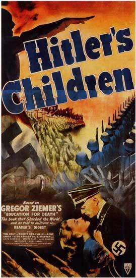 Hitler's Children - 11 x 17 Movie Poster - Style B