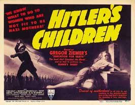 Hitler's Children - 11 x 14 Movie Poster - Style B