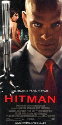 Hitman - 14 x 36 Movie Poster - Spanish Style A