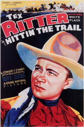 Hittin' the Trail - 11 x 17 Movie Poster - Style A