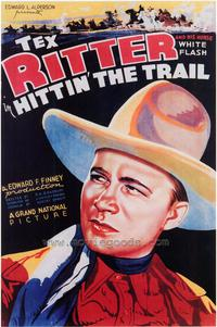 Hittin' the Trail - 43 x 62 Movie Poster - Bus Shelter Style A