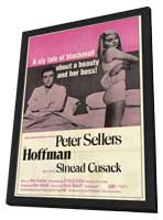 Hoffman - 11 x 17 Movie Poster - Style A - in Deluxe Wood Frame
