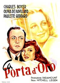 Hold Back the Dawn - 11 x 17 Movie Poster - Italian Style A