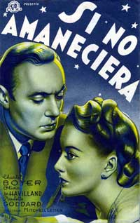 Hold Back the Dawn - 11 x 17 Movie Poster - Spanish Style C