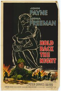 Hold Back the Night - 11 x 17 Movie Poster - Style A