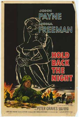 Hold Back the Night - 27 x 40 Movie Poster - Style A