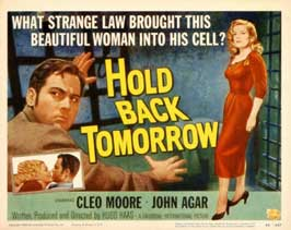 Hold Back Tomorrow - 11 x 17 Movie Poster - Style A
