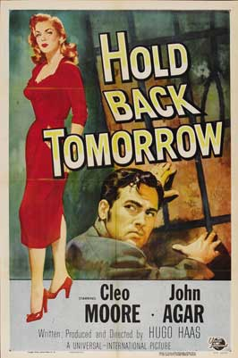 Hold Back Tomorrow - 22 x 28 Movie Poster - Half Sheet Style A