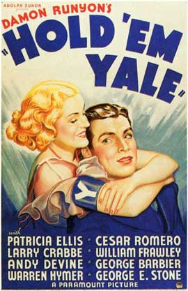 Hold 'em Yale - 11 x 17 Movie Poster - Style A