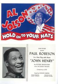 Hold On To Your Hats (Broadway) - 11 x 17 Poster - Style A