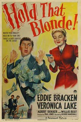 Hold That Blonde - 11 x 17 Movie Poster - Style A