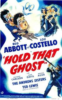 Hold That Ghost - 11 x 17 Movie Poster - Style A