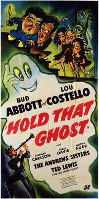 Hold That Ghost - 11 x 17 Movie Poster - Style B