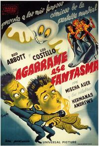 Hold That Ghost - 11 x 17 Movie Poster - Spanish Style A