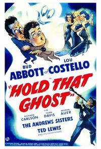 Hold That Ghost - 27 x 40 Movie Poster - Style A