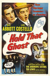Hold That Ghost - 27 x 40 Movie Poster - Style B