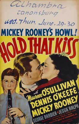 Hold That Kiss - 11 x 17 Movie Poster - Style B