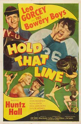 Hold That Line - 27 x 40 Movie Poster - Style A