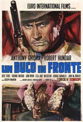 Hole in the Forehead - 11 x 17 Movie Poster - Italian Style A