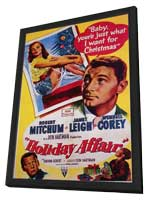 Holiday Affair - 11 x 17 Movie Poster - Style A - in Deluxe Wood Frame