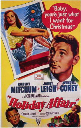 Holiday Affair - 11 x 17 Movie Poster - Style A