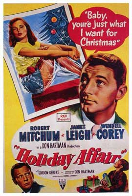 Holiday Affair - 27 x 40 Movie Poster - Style A