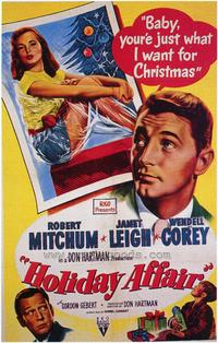 Holiday Affair - 43 x 62 Movie Poster - Bus Shelter Style A