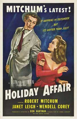 Holiday Affair - 11 x 17 Movie Poster - Style K