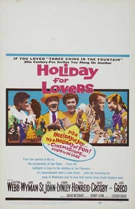 Holiday For Lovers - 27 x 40 Movie Poster - Style A