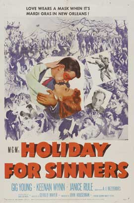 Holiday for Sinners - 27 x 40 Movie Poster - Style A