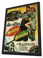 Holiday in Havana - 27 x 40 Movie Poster - Style A - in Deluxe Wood Frame