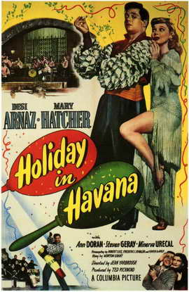 Holiday in Havana - 27 x 40 Movie Poster - Style A