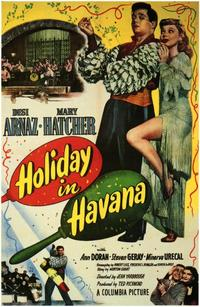Holiday in Havana - 43 x 62 Movie Poster - Bus Shelter Style A