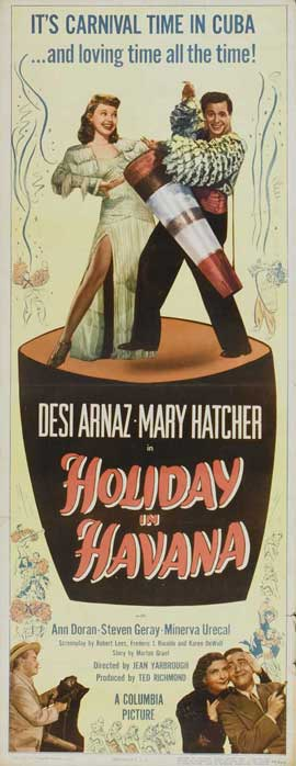 Holiday in Havana - 14 x 36 Movie Poster - Insert Style A