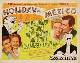 Holiday in Mexico - 11 x 14 Movie Poster - Style A