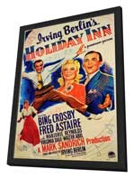 Holiday Inn - 11 x 17 Movie Poster - Style A - in Deluxe Wood Frame