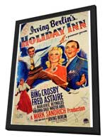 Holiday Inn - 27 x 40 Movie Poster - Style A - in Deluxe Wood Frame