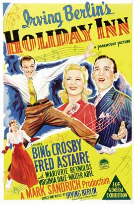 Holiday Inn - 27 x 40 Movie Poster - Australian Style A