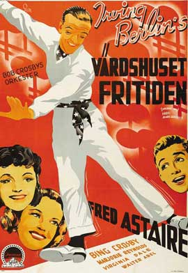 Holiday Inn - 11 x 17 Movie Poster - Swedish Style A